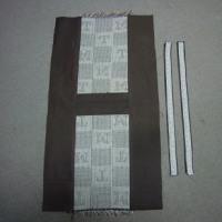 イニシアル織りあがりました。