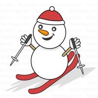明日から雪だるまスキーツアーに出掛けます。