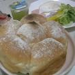 ふわふわ美味しい お食事パンで朝食♪