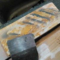 三木の鉋 鍛炎 高炭素鋼。