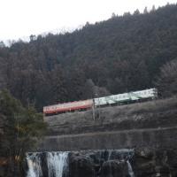2月26日撮影 烏山線 キハ40 その5 龍門の滝より
