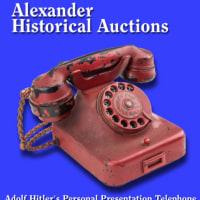 ヒトラーが命令に使った深紅の電話機が競売に登場。