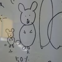 ネズミのイラストで説明を・・・。