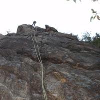 個人ガイド 六甲 芦屋の岩場 周遊クライミング