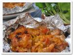 魚焼きグリルで~豚肉のねぎ味噌焼き