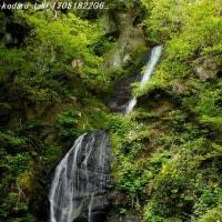 長野市の滝 虫倉山の不動滝