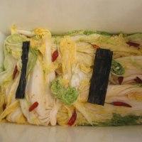 自家製白菜漬 重石を25kgから12kgに代えて、順調に漬かってま~す