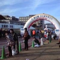 フルマラソン親子対決 ②
