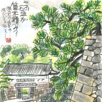 9月28日 スケッチ会 皇居外苑