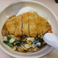 練馬区北町 「たけいし」へ行く。。。「カツレツ中華丼」