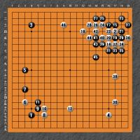 第61回山陽本因坊戦初日