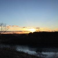 空気が澄んでいるので夕陽が綺麗です 1/18(水)の予約状況です