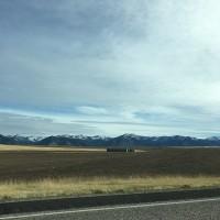 アイダホ州からワイオミング州へ