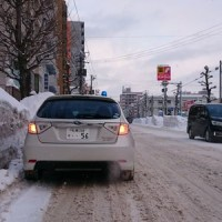 2017青色回転灯装着車防犯パトロール