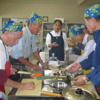 第4回目『シニア世代の男の料理教室』を開催しました