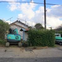 価値ある不動産を再生する!『 日在の古民家リノベーション K様邸 』は本日、水道引込工事完了&他工事随時進行中!