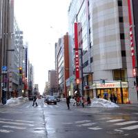 一喜一憂  札幌散歩写真
