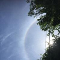 不思議な虹ですね