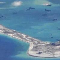 南シナ海の係争海域で事件 中国、挑発行為をやめるよう米に呼びかけ