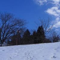 2015.02.25(土) ゴンドラ平日休業 猿倉山は雪