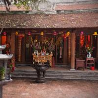 201701.15 ベトナム ハノイ旧市街: シックな寺