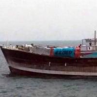 人質であった船員2人がボートで漂流