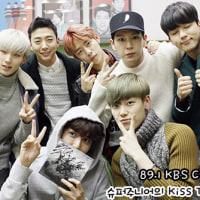 B.A.P  KBS Cool FM スーパージュニアのKISS THR RADIO(11/26)
