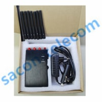Hot New Portable Cell Phone Jammer SA-008P