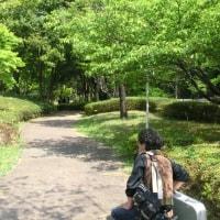 '17.04.29 みかも山公園でオカリナ演奏
