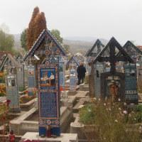 ルーマニア・サブンツアの陽気な墓