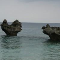 1月5日(木曜日)……ハートロック(古宇利島)