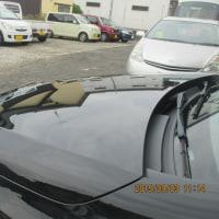 【静電気・電磁波対策:鉄粉は如何したら付かないのか考えませんか?】私は車の電気に吸い寄せられる電着だと思っています。