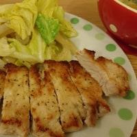 豚肉のガーリックソテー