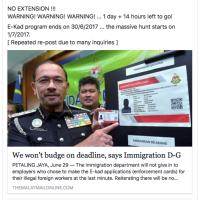マレーシアのペナン島で、外国人の小売り規制を強化。