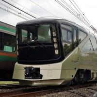 《鉄道写真》梅雨空のクルーズトレイン「TRAIN SUITE 四季島」