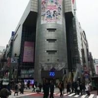 渋谷109のシリンダー広告