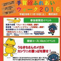 手賀沼ふれあいウォーク2016(我孫子会場の紹介)