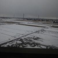 富山県らしい冬景色