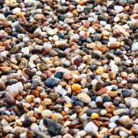 五色浜の小石