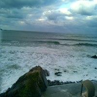 今日の波!!