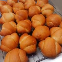 パン作りました。