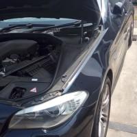 BMW523iのバッテリー上がり救援に行ってきました