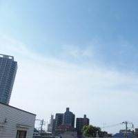 今朝(5月29日)の東京のお天気:晴れ、5月(後半)の作品:花を持つ童子