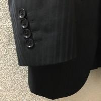スーツの袖詰め