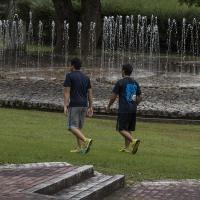 散歩道  吉川公園