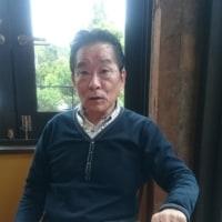 野村哲夫氏が訪ねて来た。
