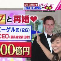 【速報】ミランダ・カーとスナップチャットCEOのエヴァン・シュピーゲルが結婚!