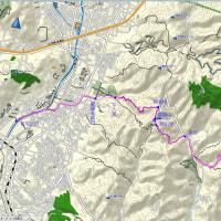 44 横峯峠から醍醐山を経て岩間山 2017.05.28