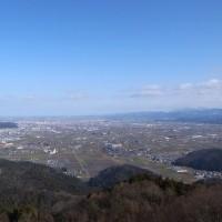 今年は文殊山(365m)、開山1300年