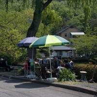 しゃげの花咲く寺カフェ